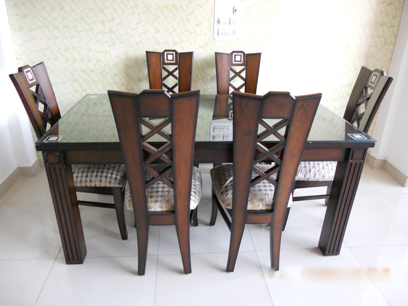Wooden Dining Set in Kirti Nagar Wooden Furniture Market